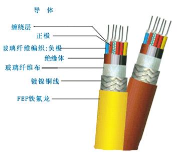 氟塑料耐高温控制电缆2